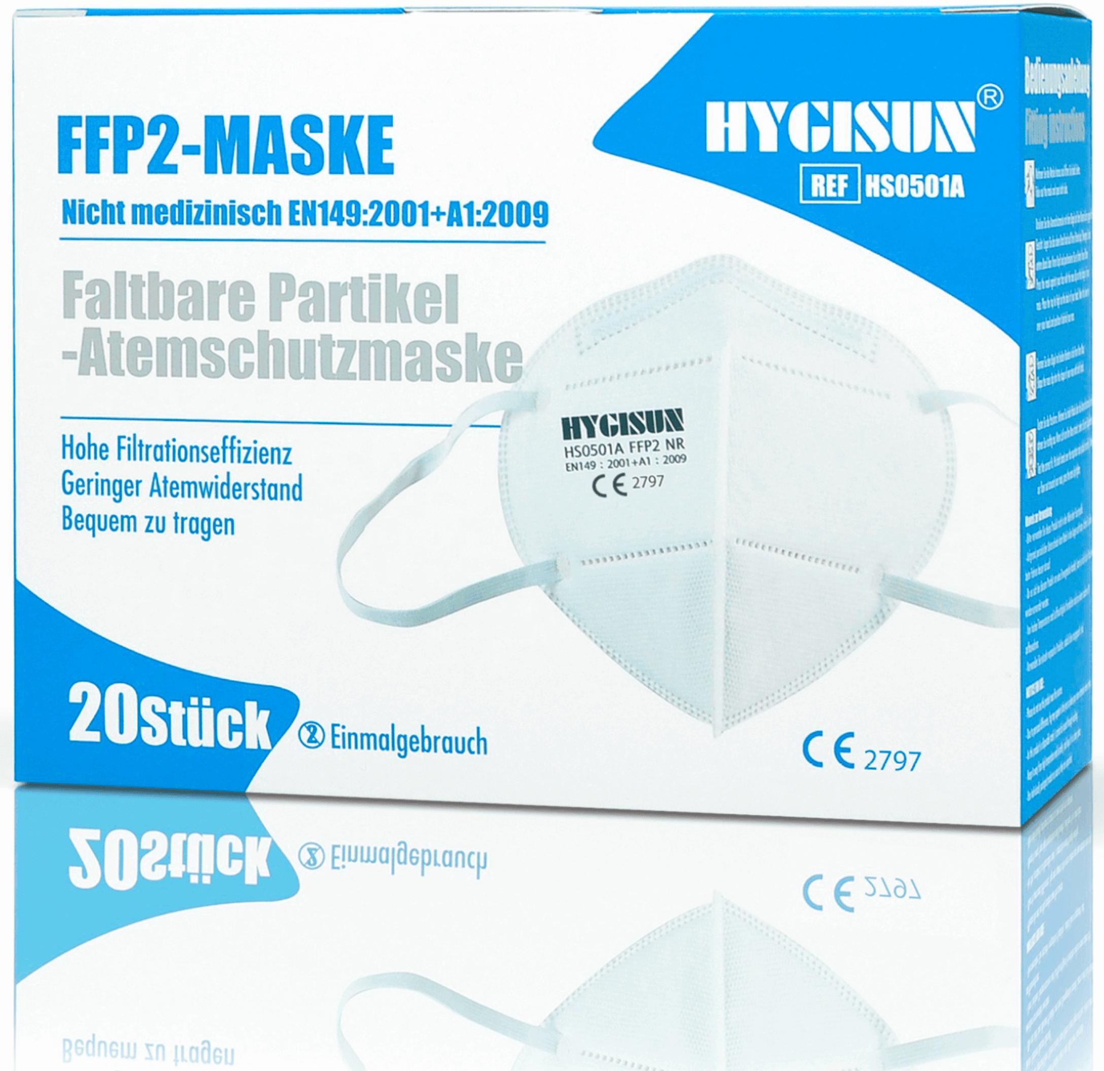 FFP2 Masken 4-lagig CE zertifiziert online kaufen