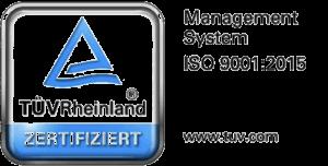 Masken aus deutscher Produktion. Wir sind ISO 9001:2015 zertifiziert.